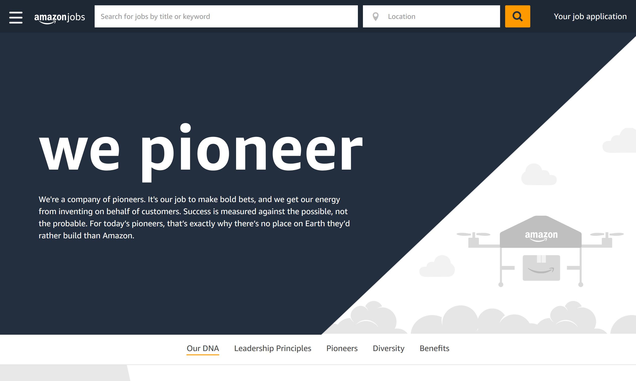 Amazon Employer Brand Campaign