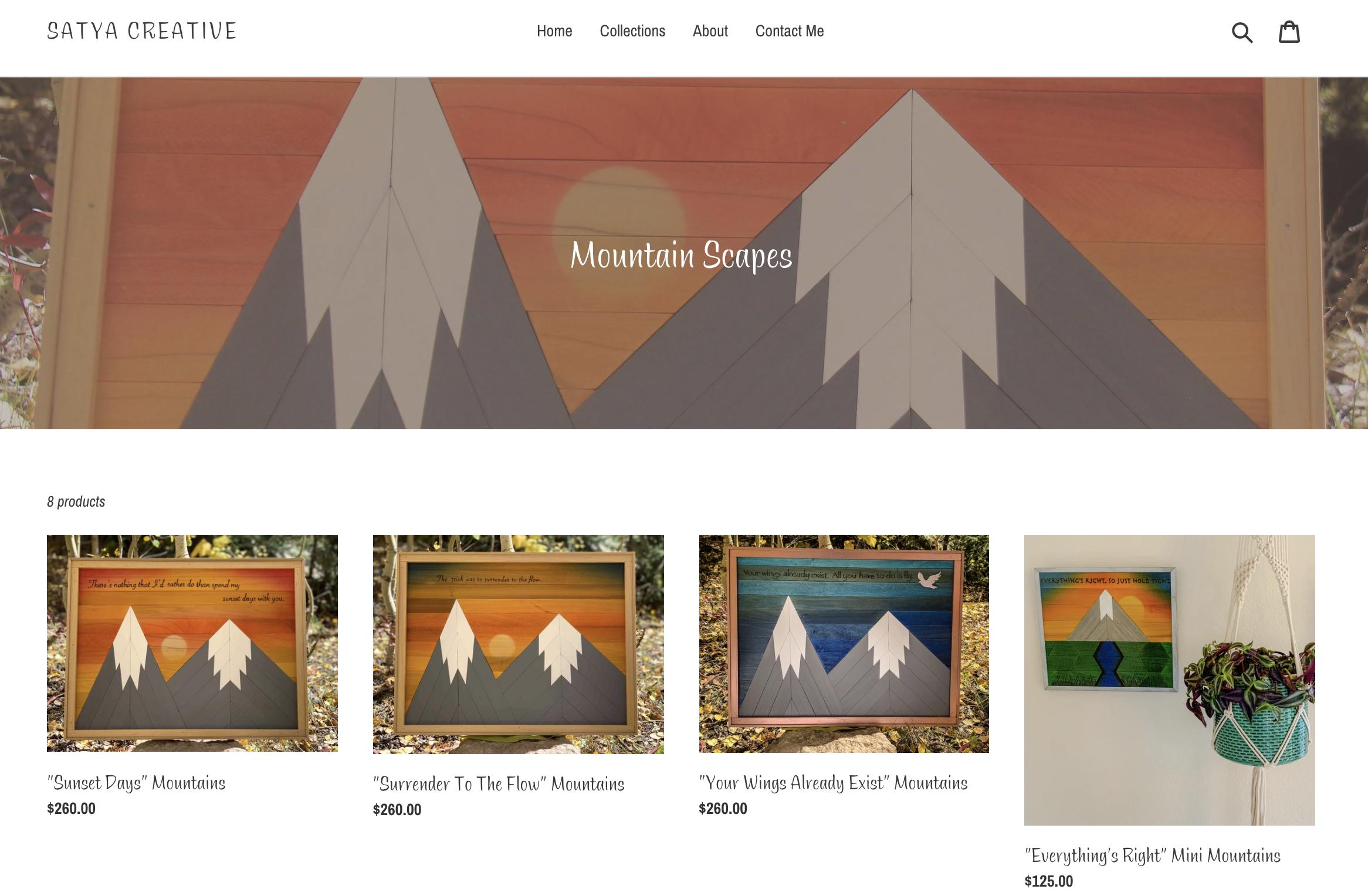 Satya Creative Website